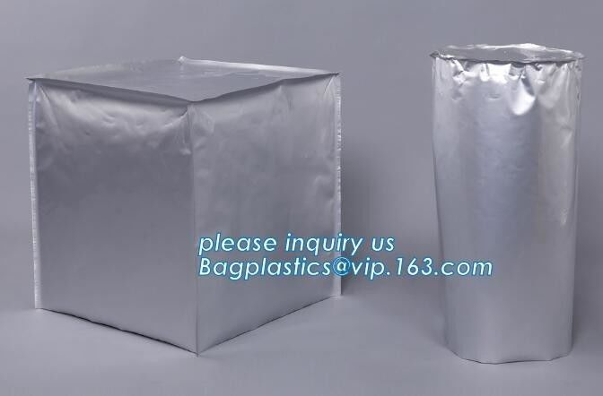Large Heavy Duty Plastic Bags Aluminum Drum Liner And Covers Pail